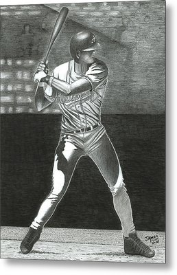 Let's Play Ball Metal Print by James  Mingo