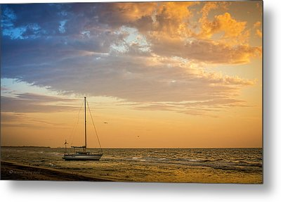 Let's Sail Away Metal Print by Marvin Spates