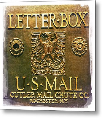 Letter Box Metal Print by Nina Prommer