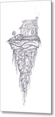 Levity Metal Print by Luke Cain