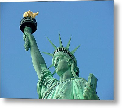 Liberty Stand Tall Metal Print