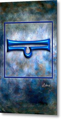 Libra  Metal Print by Mauro Celotti