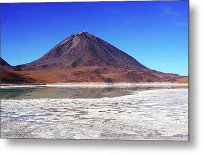 Licancabur Volcano, Bolivia Metal Print by Aidan Moran