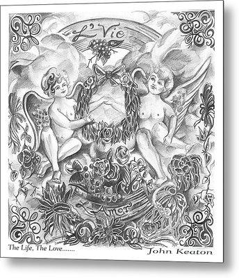 Life And Love Metal Print by John Keaton