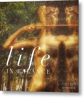 Life In Balance Metal Print