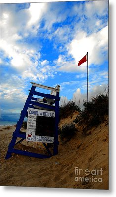Lifeguard Aol Metal Print