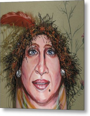 Life's A Drag Metal Print by Cathi Doherty