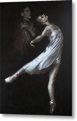 Light In The Dark Metal Print by Vali Irina Ciobanu
