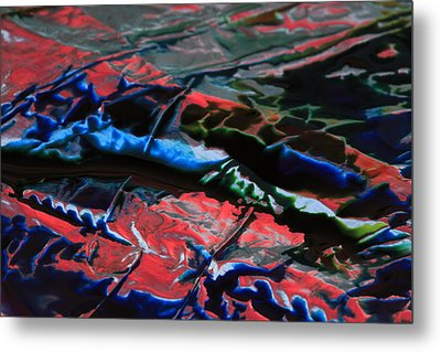 Light Metal 1 Metal Print by Chris Rodenberg
