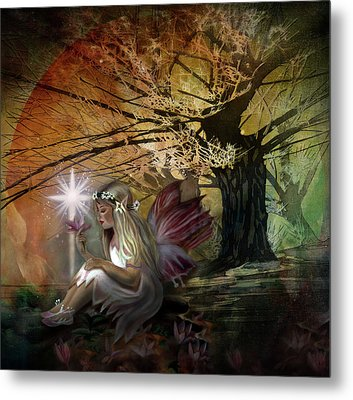 Light Of Earendil Metal Print by Debra and Dave Vanderlaan
