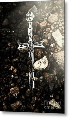 Light Of Mythology Metal Print