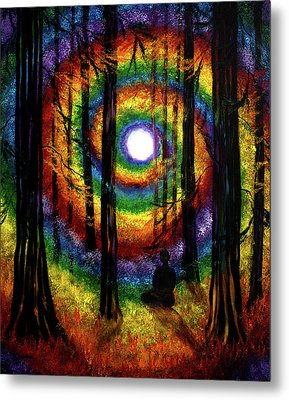 Light Of Tolerance Metal Print by Laura Iverson