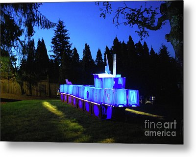 Metal Print featuring the photograph Light Sculpture by Bill Thomson