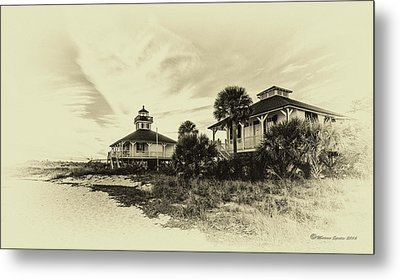 Lighthouse Boca Grande Metal Print