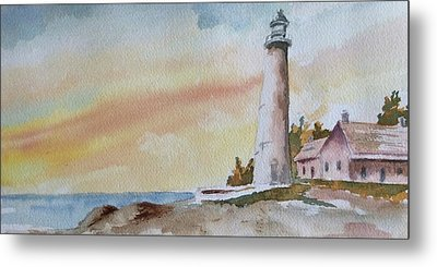 Lighthouse Metal Print by Jim Stovall