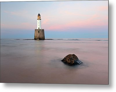 Metal Print featuring the photograph Lighthouse Rattray by Grant Glendinning