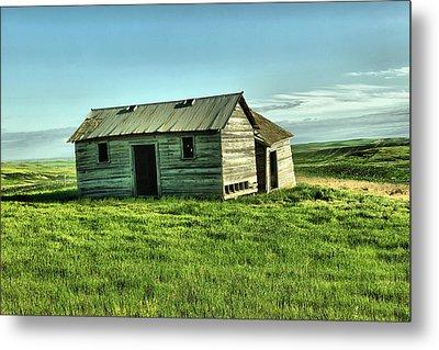 Like The Book Little House On The Prairie Metal Print