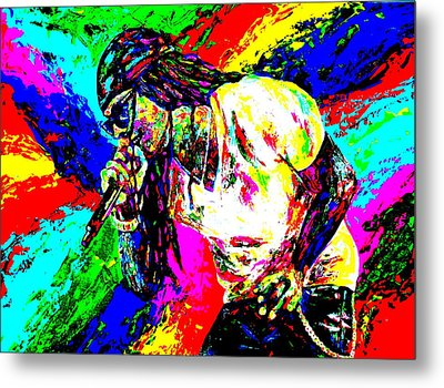 Lil Wayne Metal Print by Mike OBrien