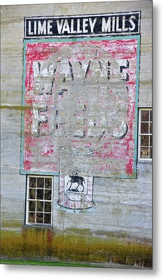 Lime Valley Mills Metal Print by David Arment