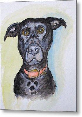 Linda's Doggie Metal Print
