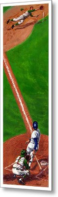 Line Drive Metal Print by Harry West