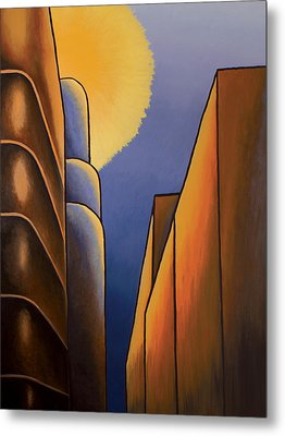 Lines And Curves Metal Print by Duane Gordon