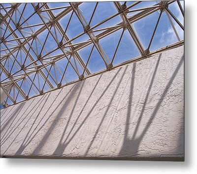 Lines And Shadows IIi Metal Print by Anna Villarreal Garbis