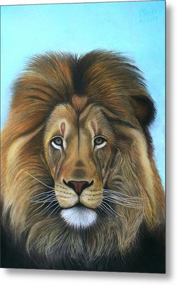 Lion - The Majesty Metal Print