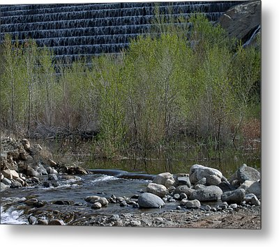 Little Dam Metal Print by Ivete Basso Photography