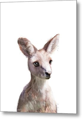 Little Kangaroo Metal Print