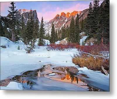 Little Stream Metal Print by Wayne Boland