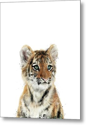 Little Tiger Metal Print