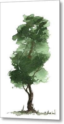 Little Zen Tree 161 Metal Print by Sean Seal