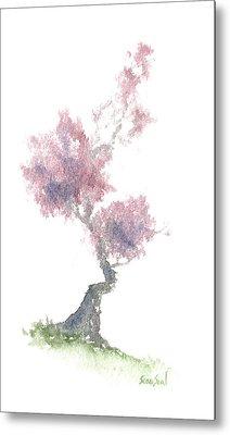 Little Zen Tree 1981 Metal Print