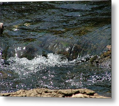 Live Water Metal Print by Rita Fetisov