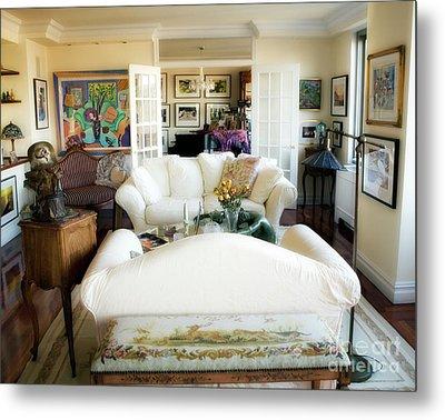 Living Room Iv Metal Print by Madeline Ellis