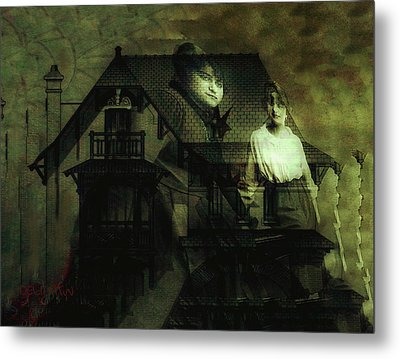 Lizzie And Her Sister Metal Print