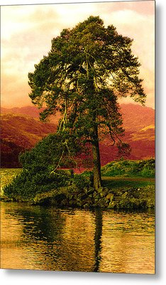 Loch Lomond Gloaming Metal Print by Rianna Stackhouse