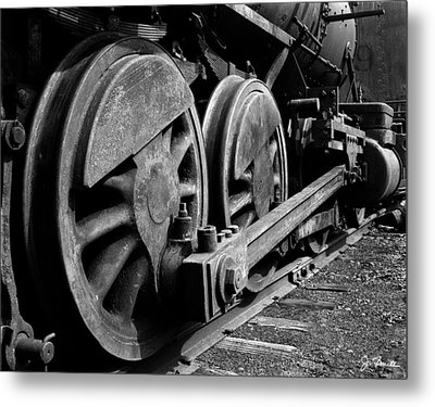 Locomotive Metal Print by Joe Bonita