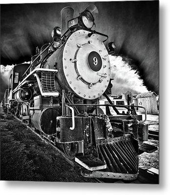 Locomotive Nine Metal Print