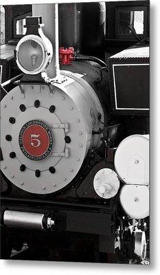 Locomotive Number Five Metal Print