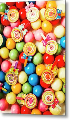 Lolly Shop Pops Metal Print by Jorgo Photography - Wall Art Gallery