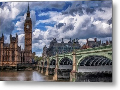London Big Ben Metal Print by David Dehner