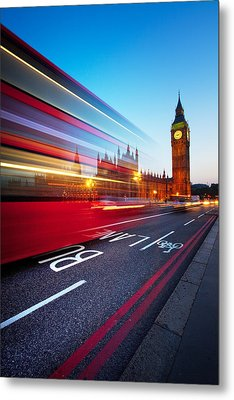 London Big Ben Metal Print by Nina Papiorek
