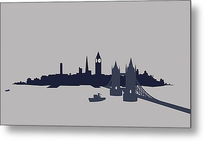 London, Great Britain Metal Print by Ralf Hiemisch
