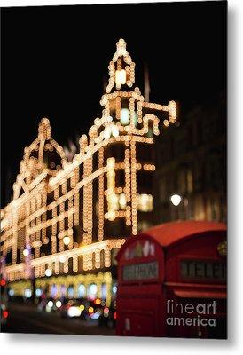 London Lights Metal Print by Sonja Quintero