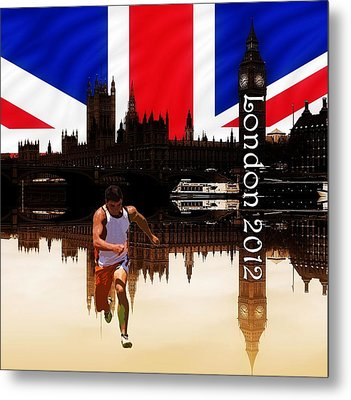 London Olympics 2012 Metal Print by Sharon Lisa Clarke
