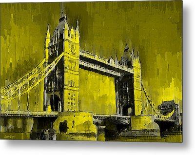 London Tower Bridge 16 - Pa Metal Print
