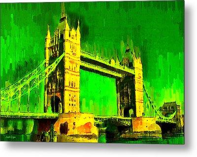 London Tower Bridge 17 - Pa Metal Print