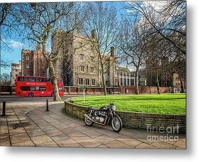 London Transport Metal Print by Adrian Evans